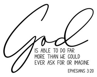 "Magnolia Design Co-God Is Able-Reusable Adhesive Silkscreen Stencil 8.5"" X 11""-Chalk Art DIY"