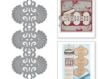 Spellbinders Shapeabilities Art Nouveau Sea Life Border Stacey Caron Etched Dies S4-664
