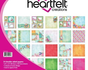 Heartfelt Creations Butterfly Dreams Paper Collection HCDP1-289