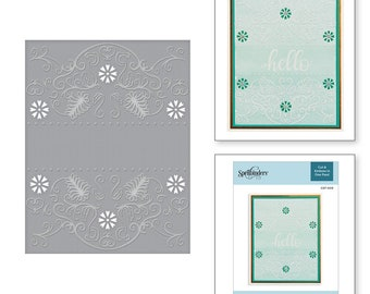 Spellbinders Flora Banner Cut and Emboss Folder CEF-009