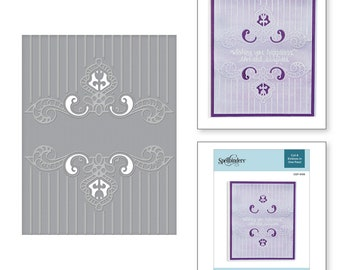 Spellbinders Regal Swirl Cut and Emboss Folder CEF-008