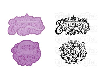 Heartfelt Creations Elegant Especially for You Die and Stamp Bundle HCD1-7319 & HCPC-3934