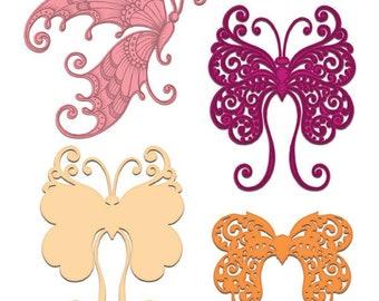 Heartfelt Creations Fluttering Butterfly HCD1-7178