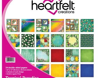 Heartfelt Creations Tropical Paradise Paper Collection HCDP1-277