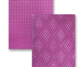 Spellbinders M-Bossabilities Reversable Embossing Folder Graduated Dots EG-001