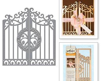 Spellbinders Card Creator A2 Gate Gatefold Etched Dies S5-286