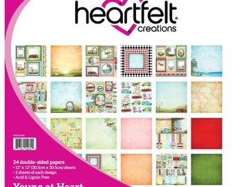 Heartfelt Creations Young at Heart Paper Collection HCDP1-283