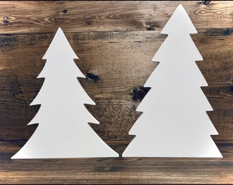 Magnolia Design Co- Trees Painted 2pk 3/4 Inch thick-Chalk Surface-Chalk Art DIY