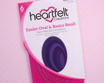 Heartfelt Creations Eyelet Oval & Basics Small HCD1-7156