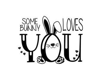 "Magnolia Design Co-Some Bunny-Reusable Adhesive Silkscreen Stencil 5""X7""-Chalk Art DIY"