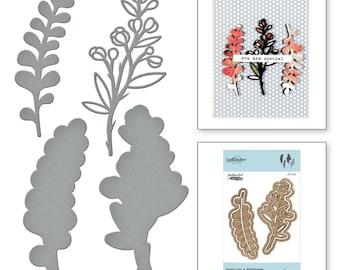 Spellbinders - Shapeabilities- Heart Like a Wildflower - S3-325
