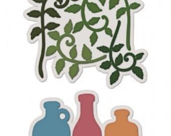 Heartfelt Creations Jars and Vines Die HCD1-767