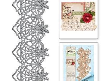 Spellbinders Shapeabilities Stacey Caron Holiday Holiday Botanical Strip Etched Dies S4-666