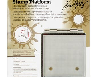 Tim Holtz STAMP PLATFORM by Tonic In Stock