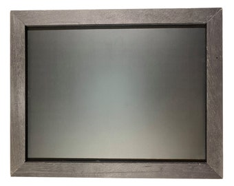 "Magnolia Design Co-11""x14"" Black Frame Board-Chalk Surface-Chalk Art DIY"