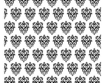 "Magnolia Design Co-Ornamental Pattern-Reusable Adhesive Silkscreen Stencil 15"" x 15""-Chalk Art DIY"