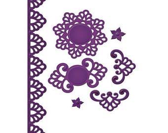 Spellbinders   Shapeabilities Moroccan Accents Etched Dies S5-064