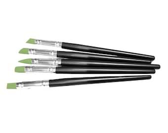 Magnolia Design Co-Accessories-Paintbrush Squeegees 5pk-Chalk Art DIY