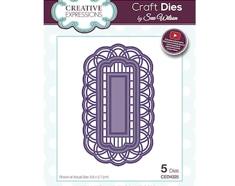 Creative Expressions Sue Wilson Frames and Tags Collection Jessica Die CED4325