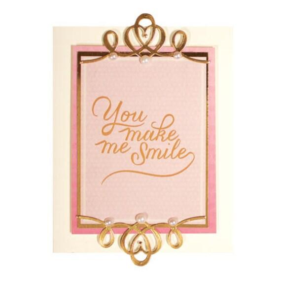 Dentelle est gracieuse coins un créateur de carte Amazing Dies Grace de papier par Becca Feeken gravé Dies Amazing S4-709 8c4838