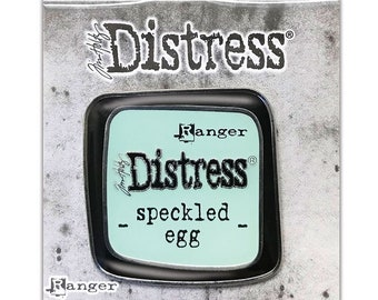 Tim Holtz Ranger Distress Enamel Collector Pin, Speckled Egg (2020 New Colors!)