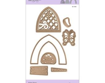 Spellbinders Shapeabilities Fairy Door Etched Dies - Exclusive S5-359