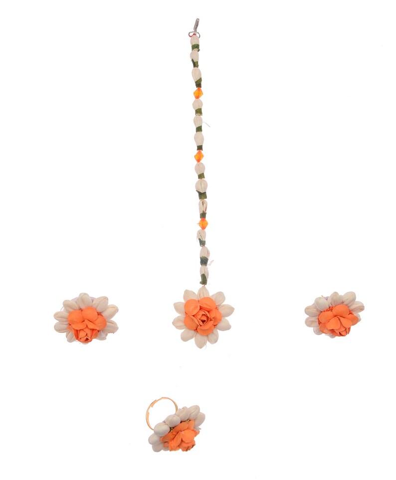 Handmade Flower Jewelry For Wedding Engagement Baby Shower Etsy