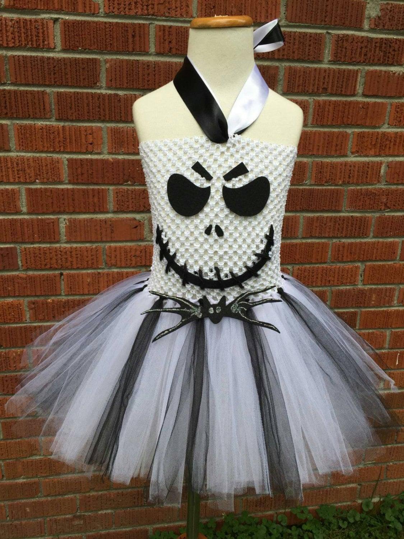 Jack Skellington Costume Jack Skellington Dress Jack | Etsy