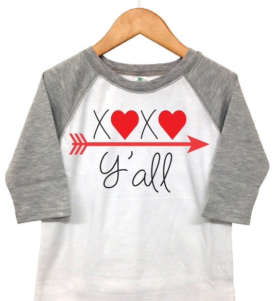 Valentines Day Shirt Xoxo Y All Toddler Valentine Etsy