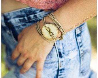Infinity Essential Oil Diffuser Bracelet -- FREE SHIPPING