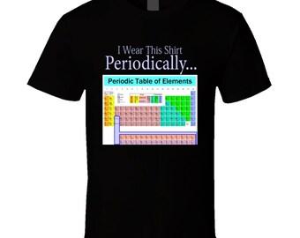 Periodic table shirt etsy more colors funny shirt chemistry tshirts periodic table urtaz Gallery