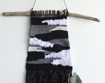 Woven Wall Hanging, Weaving, Wabi Sabi, Yarn Wall Hanging, Abstract Weaving, Yarn Wall Art, Woven Art, Fibre Art, Of the Town Weaving