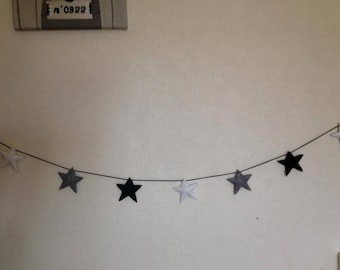 For small or large room stars Garland