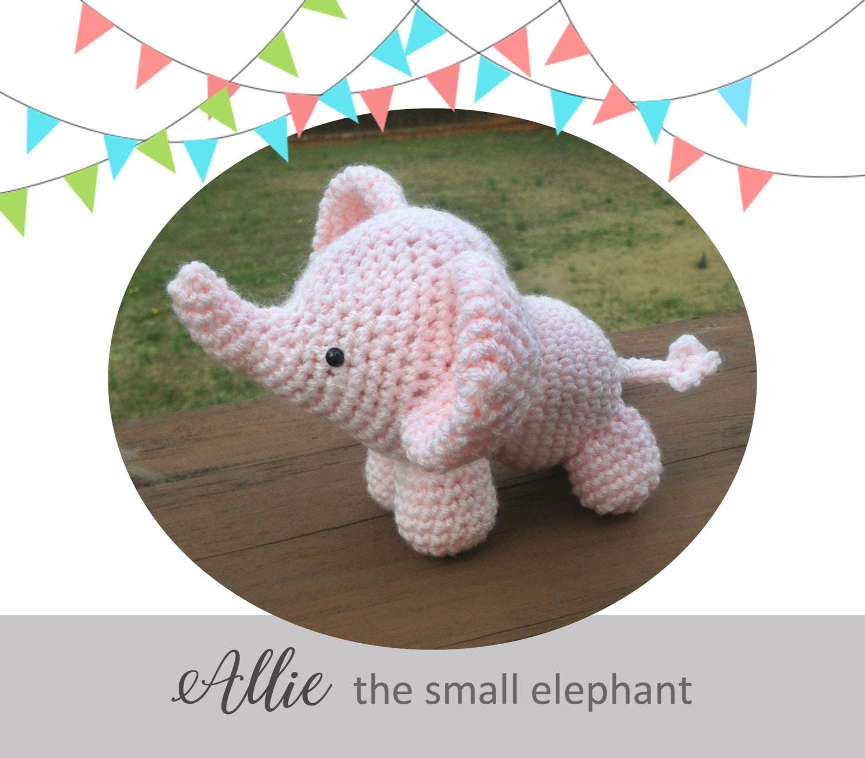 PATTERN: Ellis the Elephant - crochet elephant - amigurumi ... | 1313x1500
