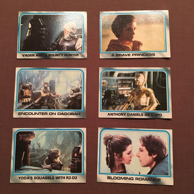 Image result for star wars topps cards empire strikes back