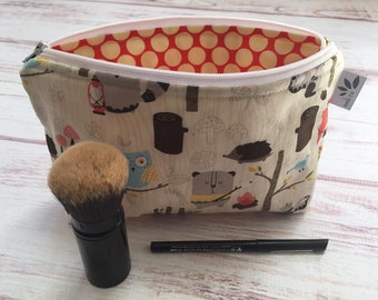 Make Up Bag -Campy