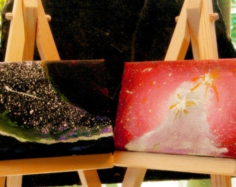 Space - Original Art - Minis -Magnet Set