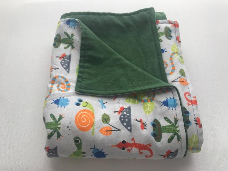 Boy Baby Blanket Baby Shower Gift Bug Blanket Snakes baby blanket Boy Nursery blanket Bug/'s life Blanket Baby Boy Gift Boy baby shower gift