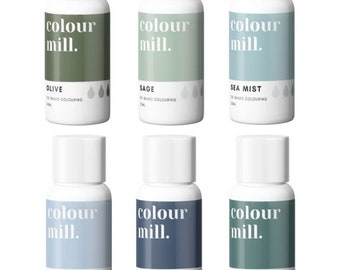 Colour Mill  oil based food coloring 20ml New colours  just listed