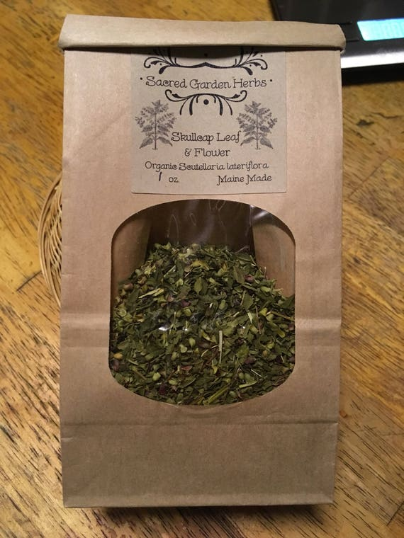Apothecary Wicca Herb Slices Organic Skullcap Root Scutellaria baicalensis
