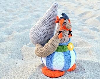 PATTERN Obelix amigurumi by Caloca Crochet