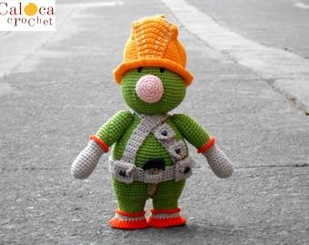 Pattern Doozer Fraggle Rock amigurumi. By Caloca Crochet