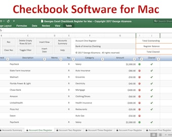 personal checkbook register software