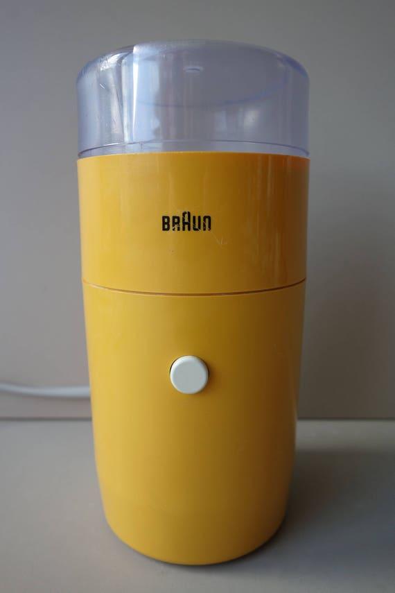 Iconic Braun Coffee Grinder Designed By Reinhold Weiss Braun | Etsy