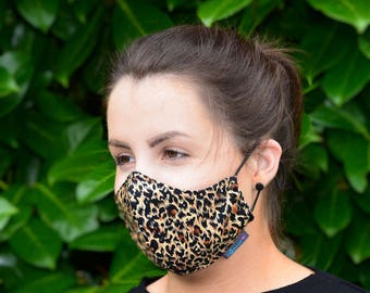 MASKERAID® Animal Print Reusable Cotton Face Mask