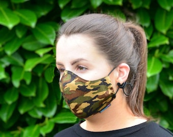 MASKERAID® Camouflage Reusable Cotton Face Mask