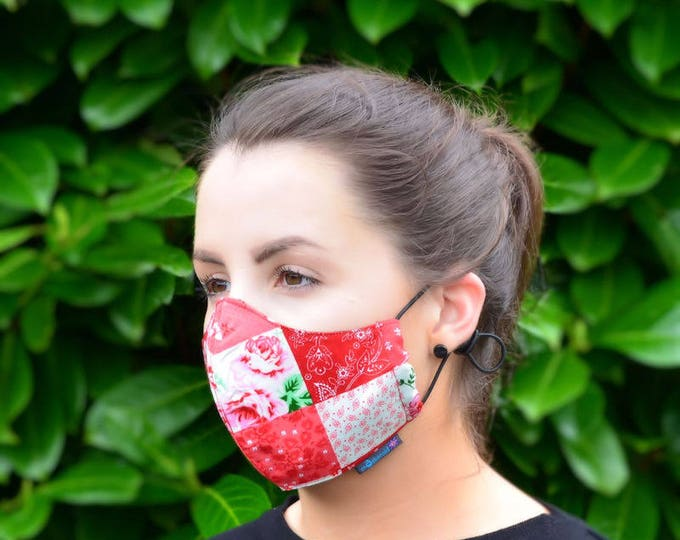 MASKERAID® Patchwork Reusable Cotton Face Mask