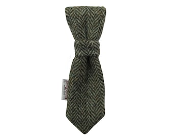Harris Tweed 'Cody' Dog Tie To Fit Any Collar