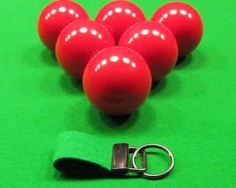 Snooker & Billiards 'Rub of the Green' Genuine Reclaimed Baize Keyring