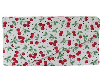 Very Cherry Asymmetric Clutch Bag